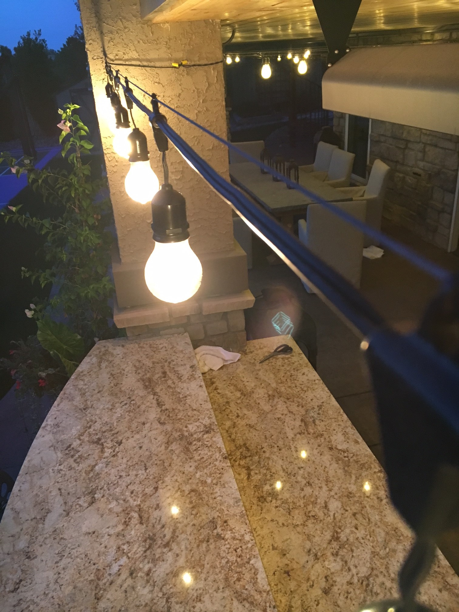 Novelty Lights Mounting Of Outdoor String Lights