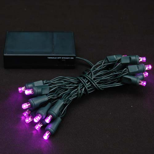 Picture of 20 LED Battery Operated Lights Pink