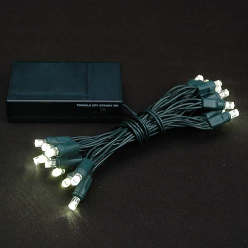 Picture of 20 LED Battery Operated Lights Warm White