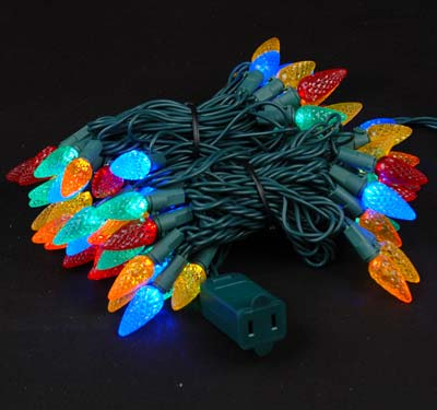 Picture of Multi 70 LED C6 Strawberry Mini Lights **Was $17.15 Now $12.25**