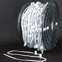 "Picture of 10 Amp C9 1000' Reel White Wire 24"" Spacing"