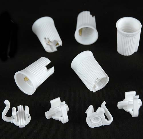 Picture of C9 SPT-1 White Sockets 50 Pack