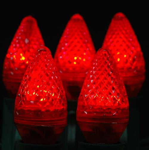 Picture of Dimmable Red C7 LED Bulbs