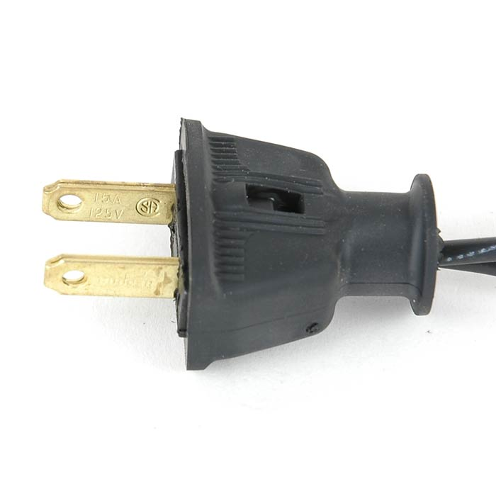 Picture of Heavy Duty Black Male Plug