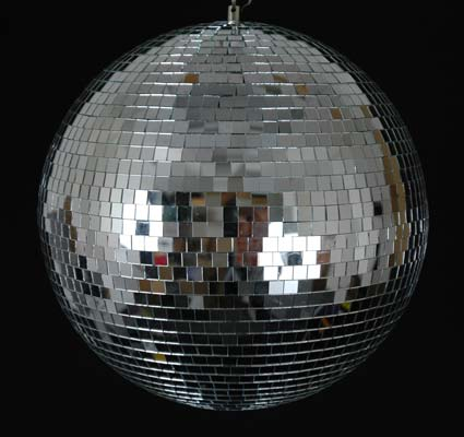 "Picture of 8"" Mirror Ball"