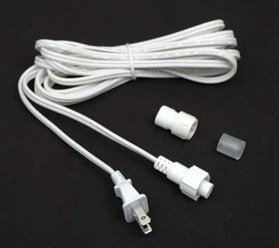 """Picture of 15' Rope Light Connector Kit for 1/2"""" 2 Wire Rope Lights"""