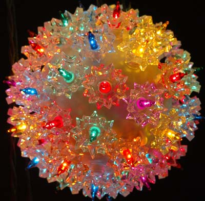 Picture of Multi 50 Light Mini Starlight Sphere 6""