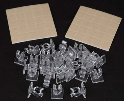 Mini Adhesive Clips For Mini Lights Novelty Lights Inc