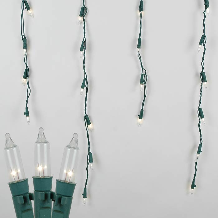 Picture of Pro-Line Icicle Lights Green Wire Long Drops