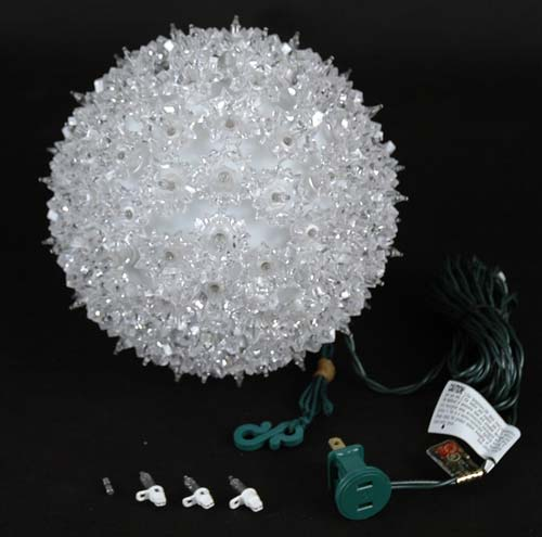 Quot starlight sphere light clear christmas lighted ball