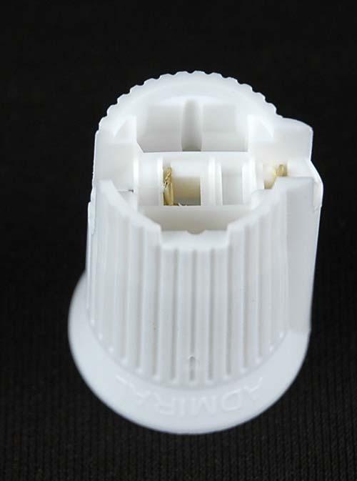 C7 Spt 2 White Sockets 50 Pack Novelty Lights Inc