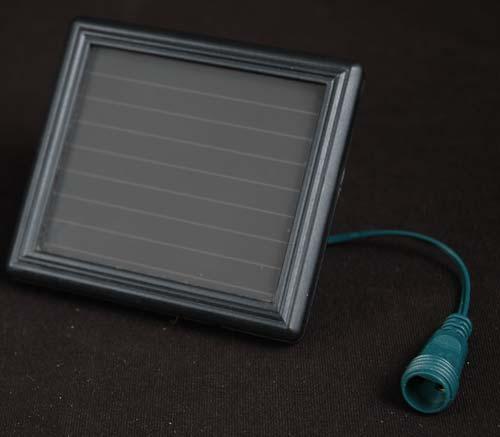 Solar Mini Lights On String : Pure White Solar Christmas lights with 100 Bulbs - Novelty Lights Inc