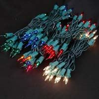 Picture for category 20 Light Green Wire Mini Christmas Lights