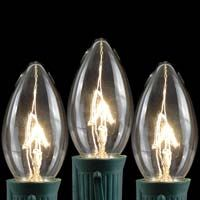 Picture for category Clear and White C9 Bulbs