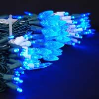 Picture for category Blue LED Christmas Lights