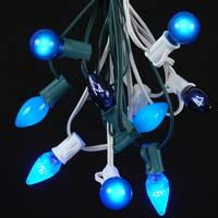 Picture for category Blue C7 Outdoor Christmas String Light Sets