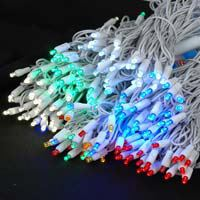 Picture for category White Wire Christmas lights