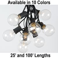 Picture for category G50 String Light Sets on Black Wire