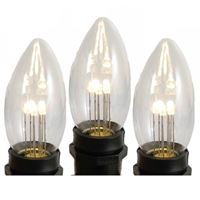 Picture for category Glass C9 LED Bulbs
