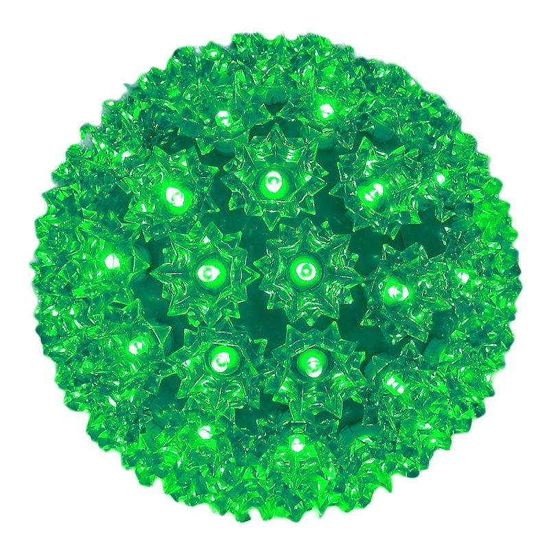 "Picture of 100 Green LED 7.5"" Sphere"