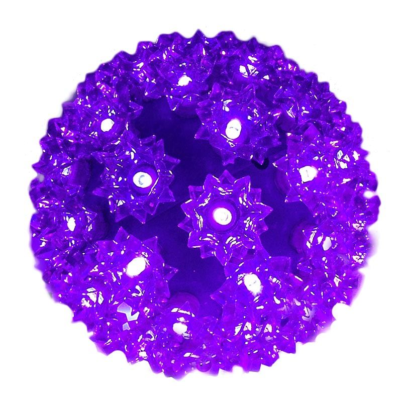 "Picture of 50 Purple LED 6"" Sphere"