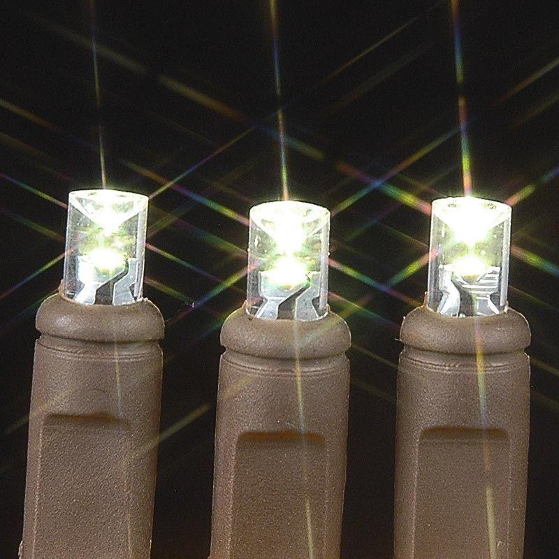 50 Wide Angle Warm White LED Mini Christmas Lights Sets 11 ...