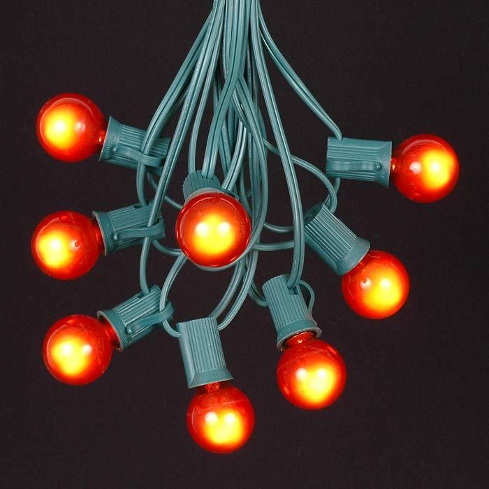 Green C6 Led Christmas Lights