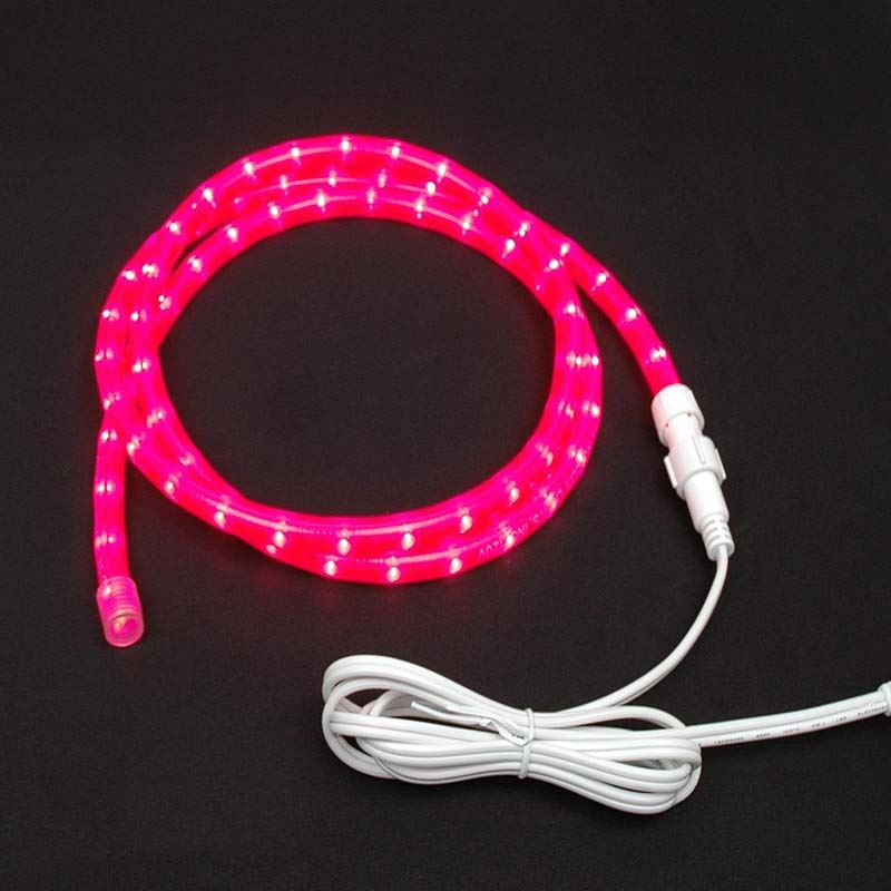 "Picture of Pink Chasing Rope Light Custom Kits 1/2"" 3 Wire"