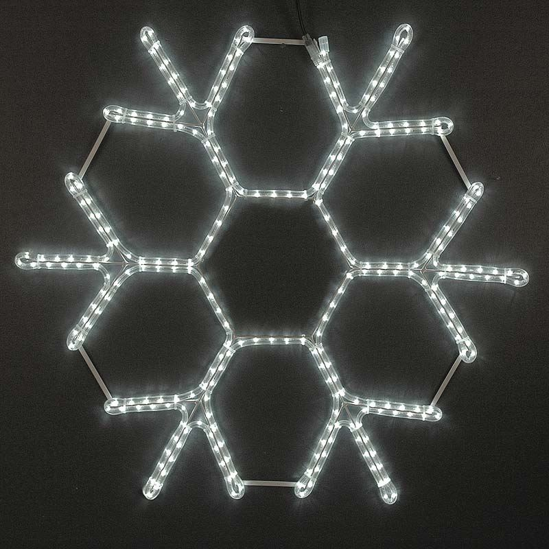 "Picture of 36"" LED Snowflake-Cool White"