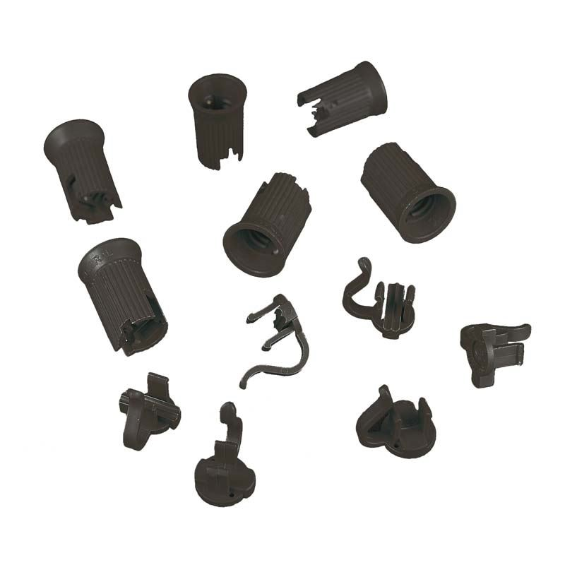 Picture of C7 SPT-2 Black Sockets 50 Pack