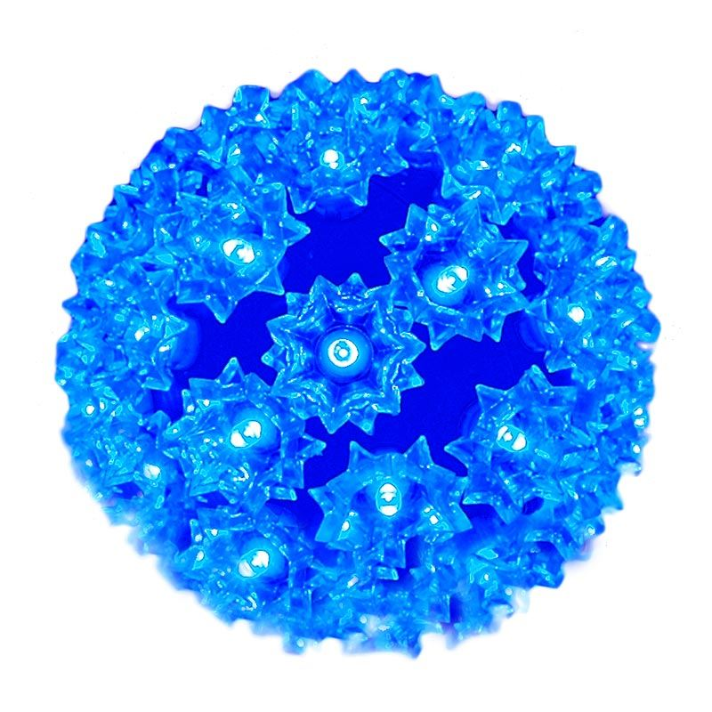 "Picture of 50 Blue LED 6"" Sphere"