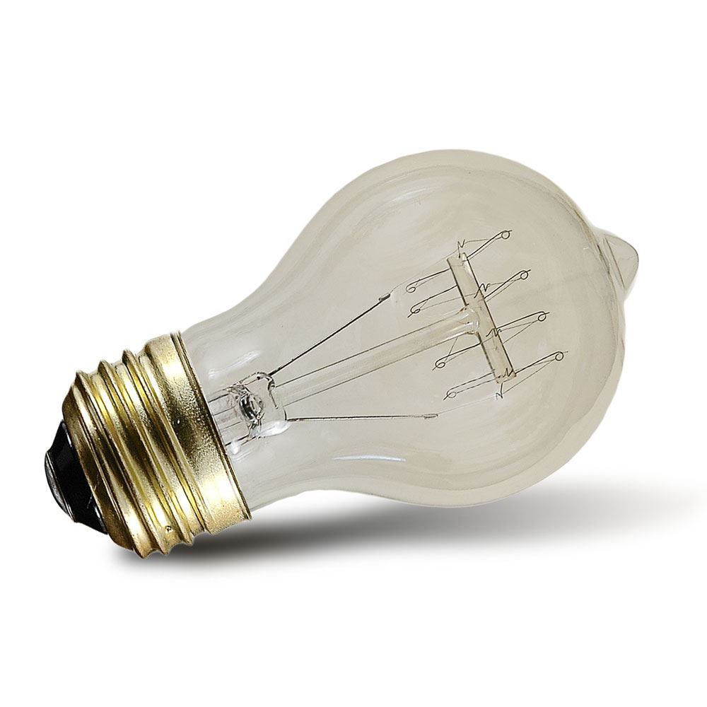 A45 4 Watt Led Bulb 20w Replacement With E26 E27 Medium: Buy 40w A19 Vintage Edison Style Filament Bulbs
