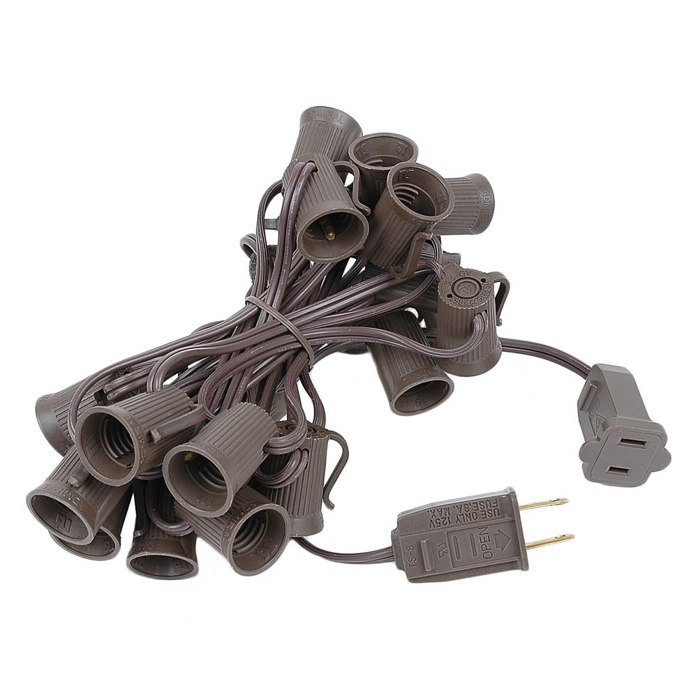 "Picture of C9 12.5' Stringers 6"" Spacing - Brown Wire"