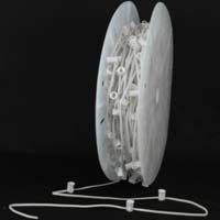 "Picture of C7 500' Spool 12"" Spacing 8 Amp White Wire"