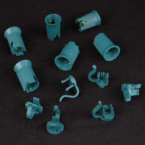 Picture of C7 SPT-2 Green Sockets 50 Pack