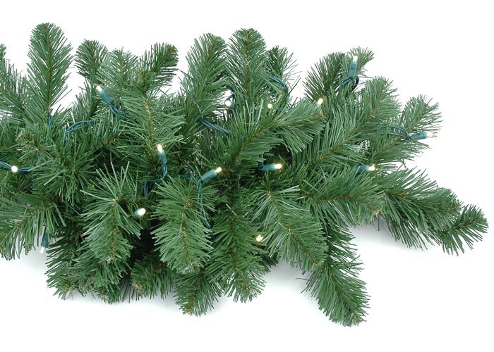 Picture of 9' Lighted Deluxe Colorado Pine Garland