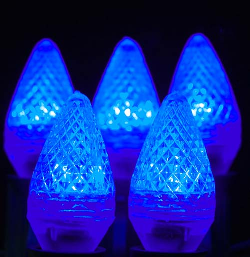 Picture of Dimmable Blue C7 LED Bulbs *On Sale*