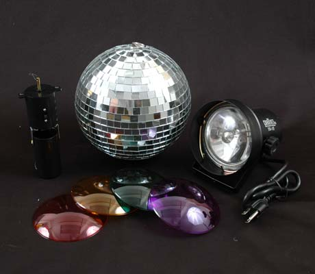"Picture of 12"" Mirror Ball Party Kit"