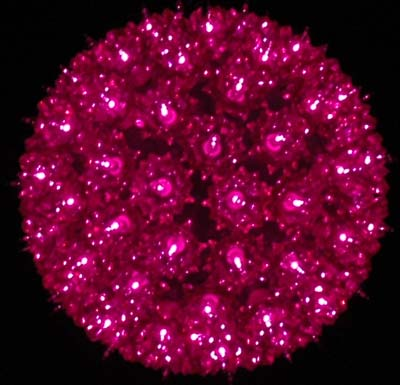 Picture of Purple 100 Light Starlight Sphere 7.5""