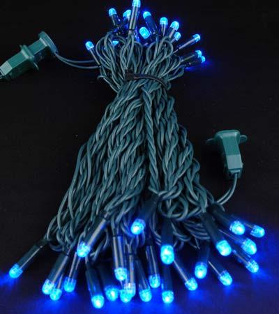 Led Christmas Mini Lights With 50 Blue Led S