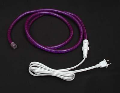 Custom purple rope light kit 120v 12 novelty lights picture of purple rope light custom cut 12 120v incandescent aloadofball Gallery