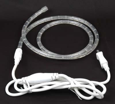 Custom cool white led rope light kit novelty lights picture of pure white led custom rope light kit 12 2 wire aloadofball Choice Image
