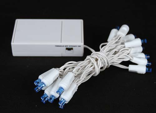 20 light led battery christmas mini light set
