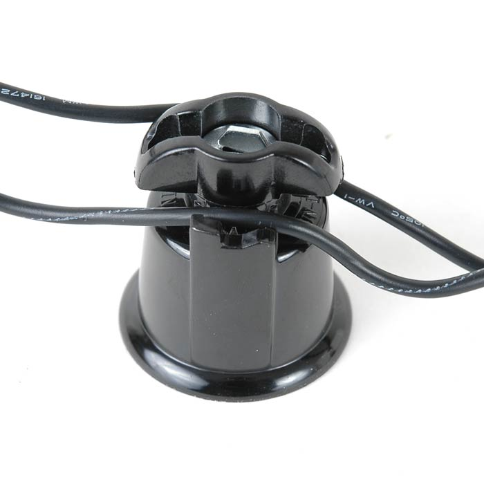 Medium Base Black Bakelite Sockets Novelty Lights Inc