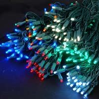 Picture for category Green Wire 50 Bulb LED Christmas Lights