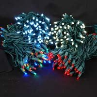 Picture for category Green Wire 100 Bulb LED Christmas Lights