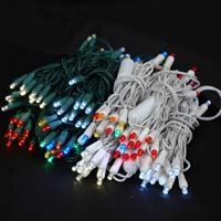 Picture for category 20 Light Wide Angle Concave LED Mini Christmas Lights