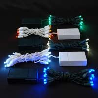 Battery operated christmas string lights novelty lights inc picture for category 20 light battery operated christmas lights mozeypictures Gallery