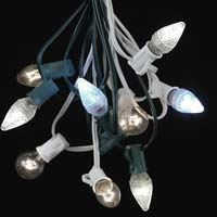 Picture for category Clear C7 Outdoor Christmas String Light Sets