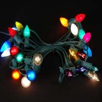 Picture for category C9 Green Wire Outdoor String Light Sets